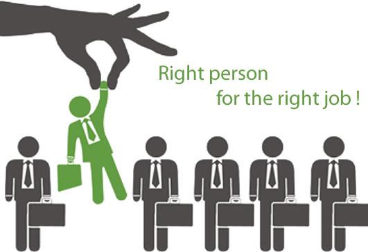 Đúng người đúng việc sẽ phát huy tối đa điểm mạnh của nhân viên